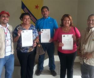 Campesinos falconianos solicitaron regularización de sus tierras