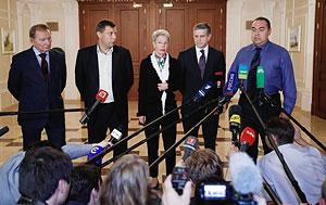 La cumbre en Minsk acarrea paz a Ucrania