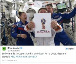El logo oficial del Mundial 2018, presentado en Moscú