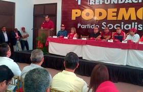 Dirección nacional de Podemos será recibida este viernes por la Gobernación de Carabobo