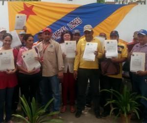 INTI reivindica a productores otorgándoles adjudicación de tierras