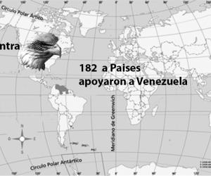 ¿Y dónde queda Venezuela?