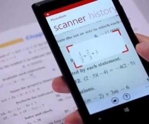 Una aplicación resuelve cálculos matemáticos con la cámara del móvil