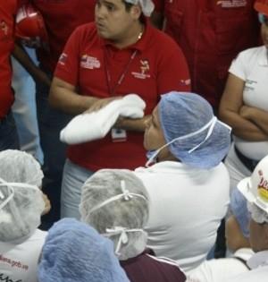 Más de 300 trabajadores y trabajadoras de Industrias Diana fueron beneficiados con dotación de uniformes