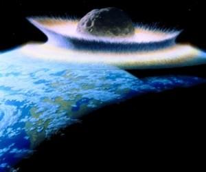 Científicos logran recrear el efecto del choque de un asteroide contra la Tierra