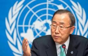 Ban Ki-moon insta a unir esfuerzos contra el cambio climático