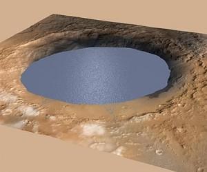 Marte habría albergado grandes lagos durante decenas de millones de años, según la Nasa