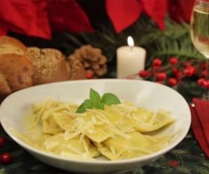 Receta del día: unos ricos ravioles de espinaca y queso