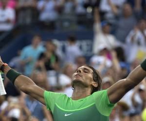 Rafael Nadal sufre pero continúa en el US Open
