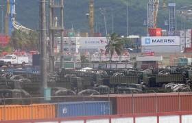 Llegó cargamento de armas rusas a Puerto Cabello