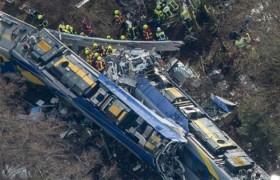 Fatal choque de dos trenes en Alemania deja 9 muertos y 150 heridos: 50 de ellos de gravedad