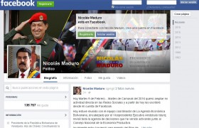 Presidente Maduro se activó en Facebook